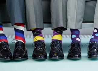 bunte Socken