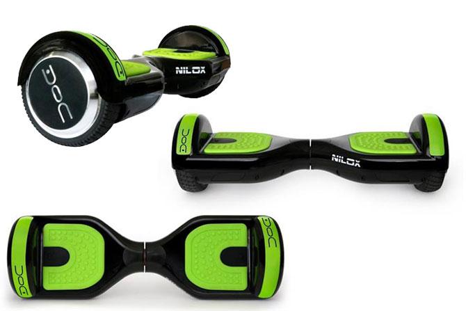 Doc Hoverboard Black 6.5