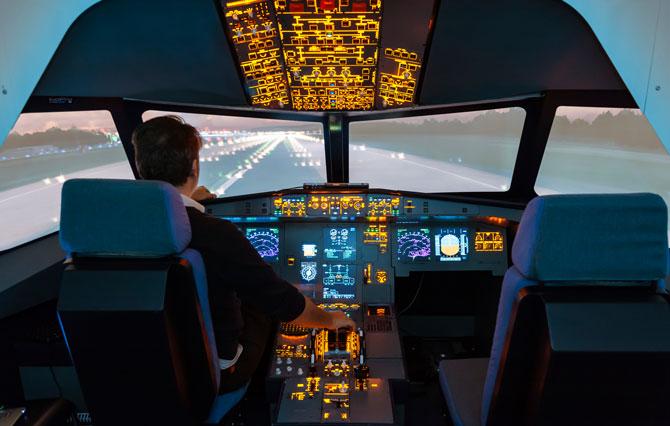 Flugzeugsimulator in Berlin