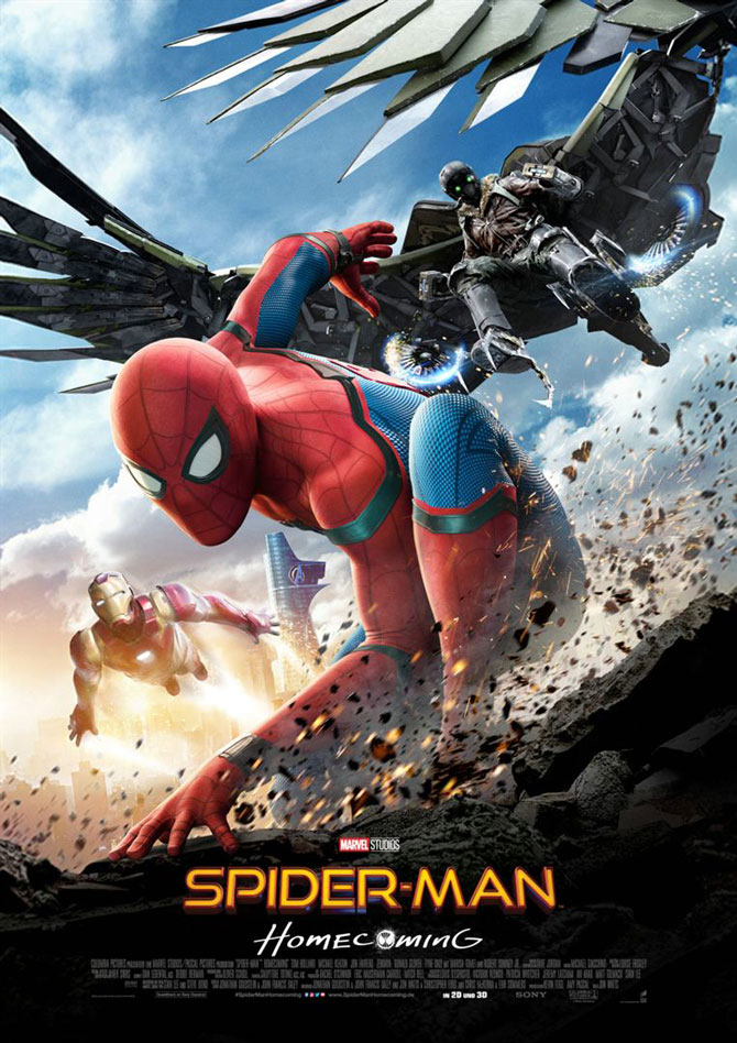 Spider-Man: Homecoming Kinoposter