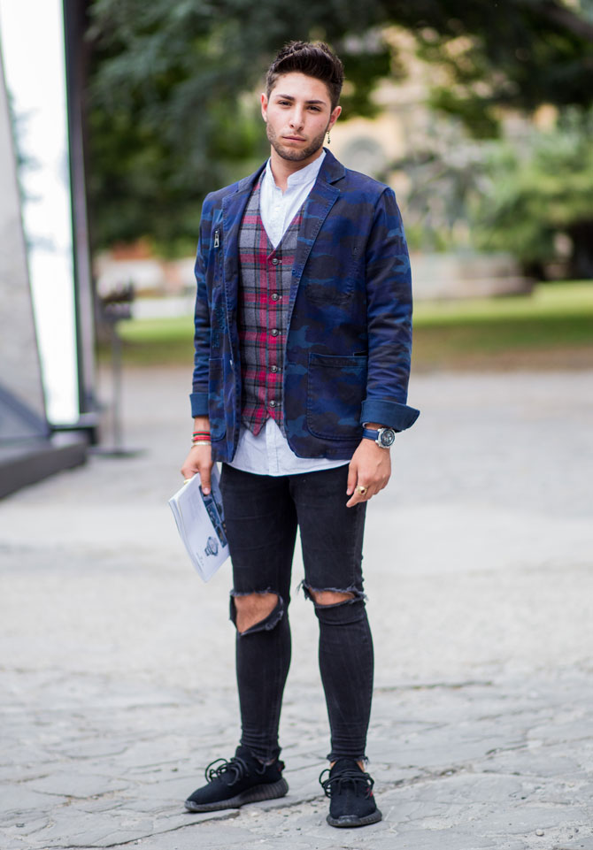 Street Style Weste Outfit 2
