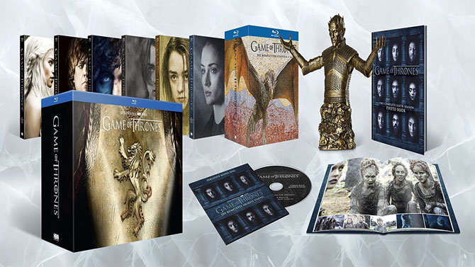Game of Thrones Ultimate Collector's Edition Staffel 1-6