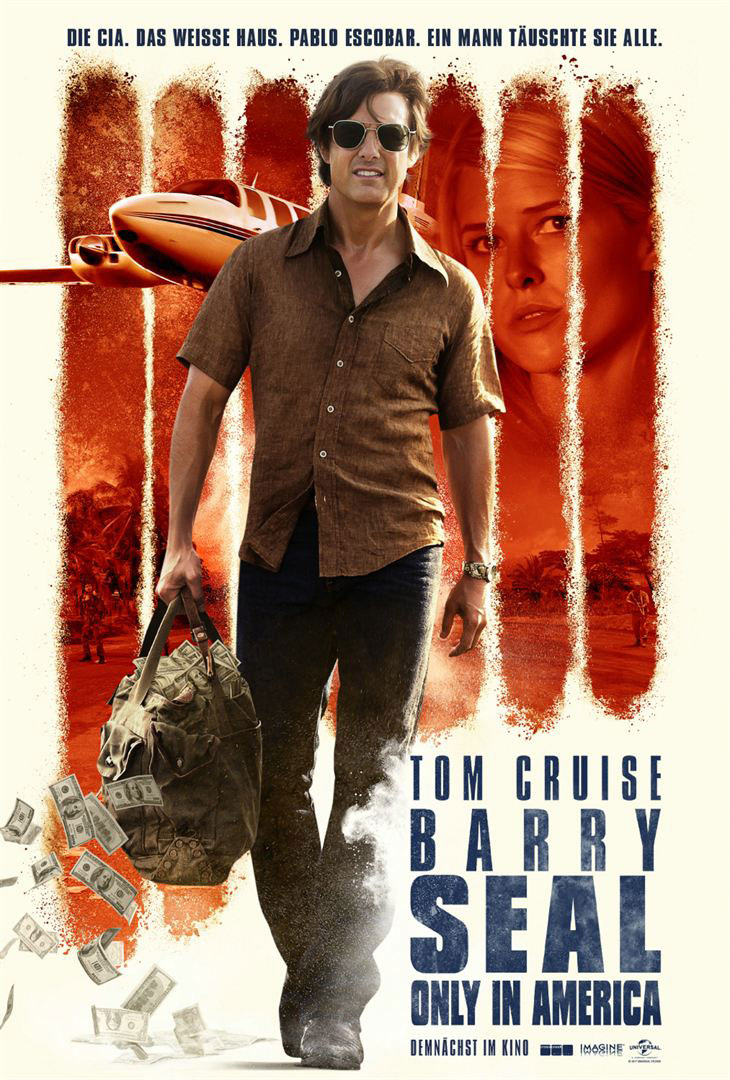Barry Seal Poster