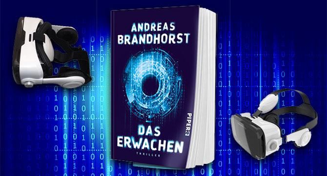 Gewinne zum Buchrelease von DAS ERWACHEN eine TERRATEC Virtual Reality Brille!