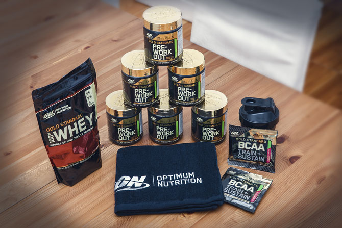 Optimum Nutrition Gold-Standard-Paket