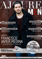 AJOURE Men Cover Monat Januar 2018 mit Francisco Medina