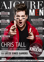 AJOURE Men Cover Monat Februar 2018 mit Chris Tall