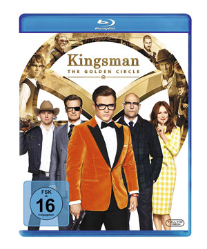 Kingsman: The Golden Circle Blu-ray
