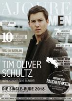AJOURE Men Cover Monat März 2018 mit Tim Oliver Schultz