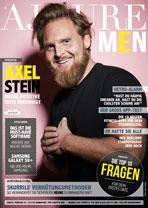 AJOURE Men Cover Monat April 2018 mit Axel Stein