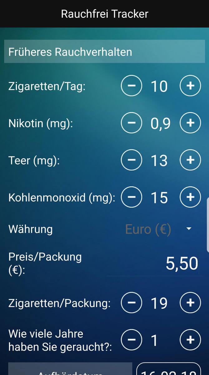 Nichtraucher-Apps