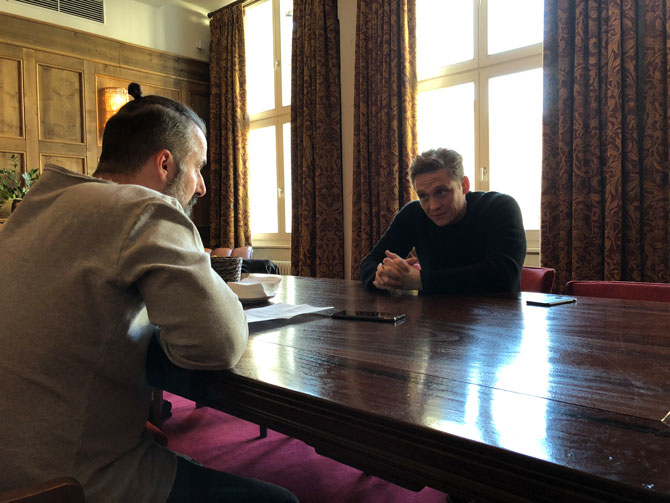 Matthias Schweighöfer und Tobias Bojko im Interview