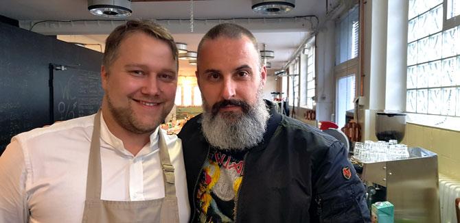 Anton Schmaus und Tobias Bojko