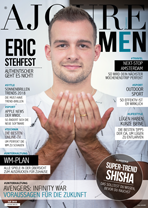 AJOURE Men Cover Monat Juli 2018 mit Eric Stehfest