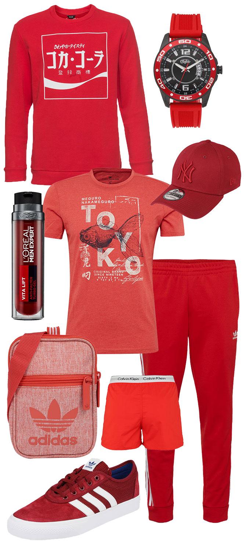 Sommer Trendfarbe Rot