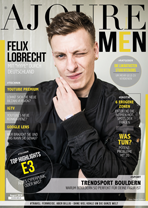 AJOURE Men Cover Monat August 2018 mit Felix Lobrecht