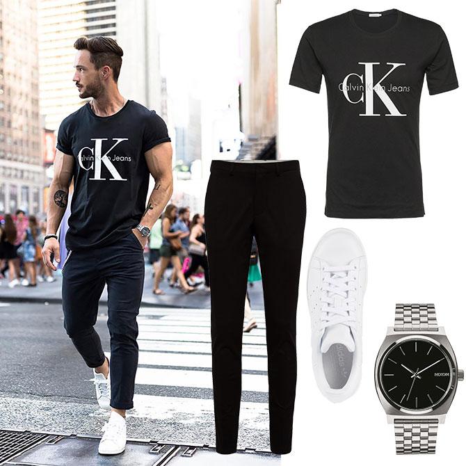 Street-Style Look Black & White