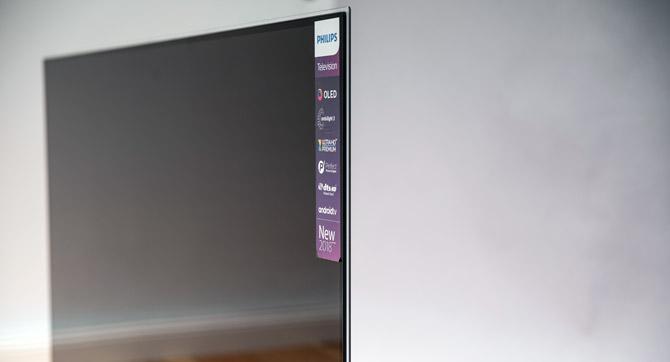 OLED-Technologie im ultraflachen Glasrahmen