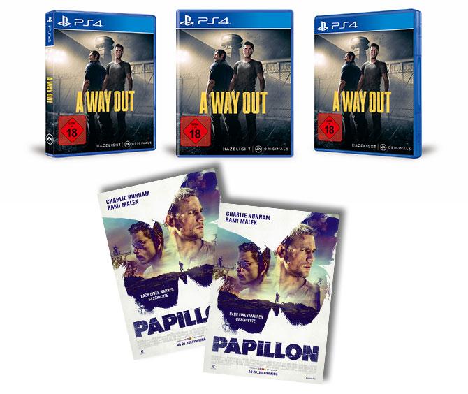PAPILLON Gewinnspiel Preise