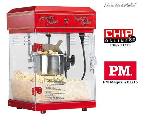 Rosenstein & Söhne Popcornmaschine