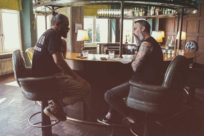 Samy Deluxe im Interview mit Tobias Bojko