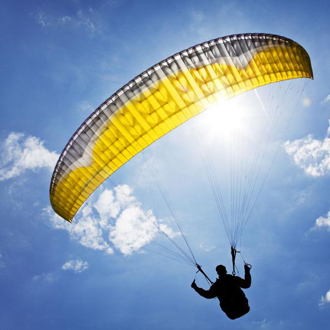 Acro-Paragliding