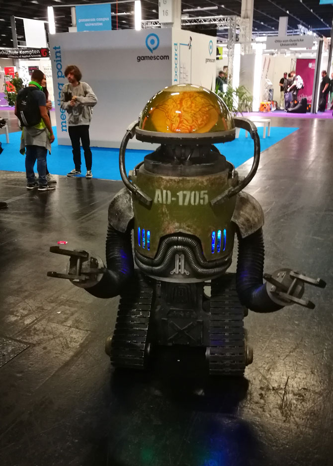 Gamescom Roboter