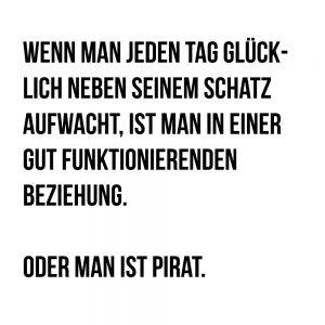 Lustige Sprüche - Pirat
