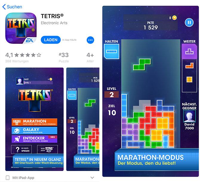 Tetris App