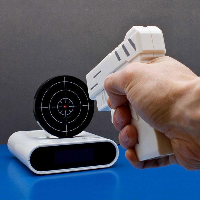 Gun Wecker