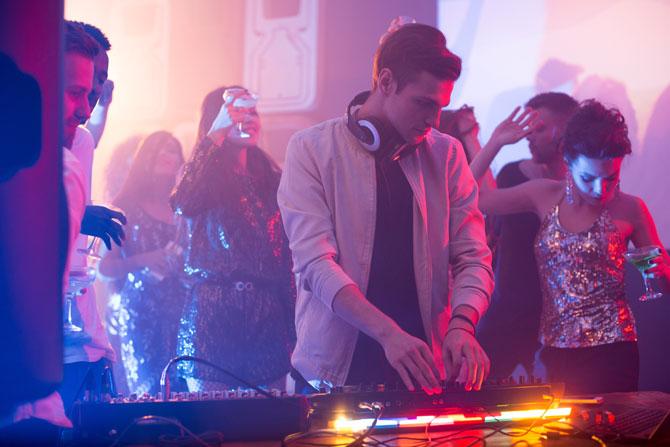 DJ-Booth Partyraum