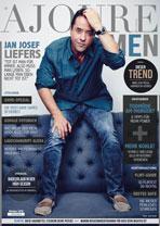 AJOURE Men Cover Monat Oktober 2018 mit Jan Josef Liefers