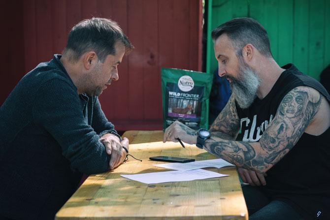 Jan Josef Liefers und Tobias Bojko im Interview