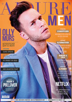 AJOURE Men Cover Monat November 2018 mit Olly Murs