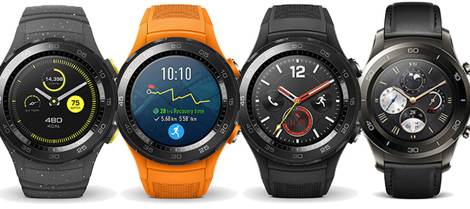 Huawei Watch 2 Modelle