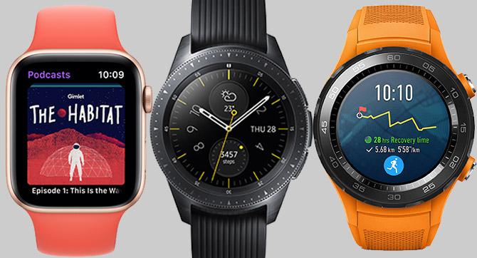 Der große Smartwatch-Vergleich