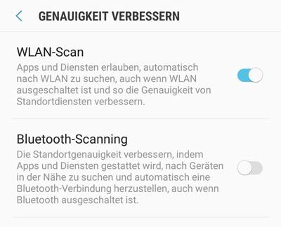 Bluetooth-Scanning