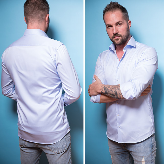 ETERNA Hemden-Test
