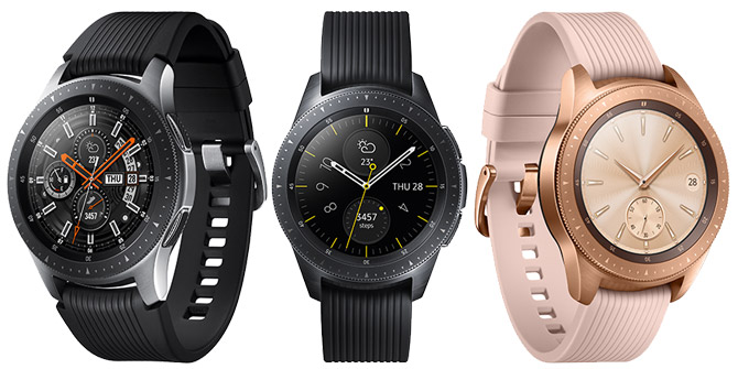 Samsung Galaxy Watch Modelle