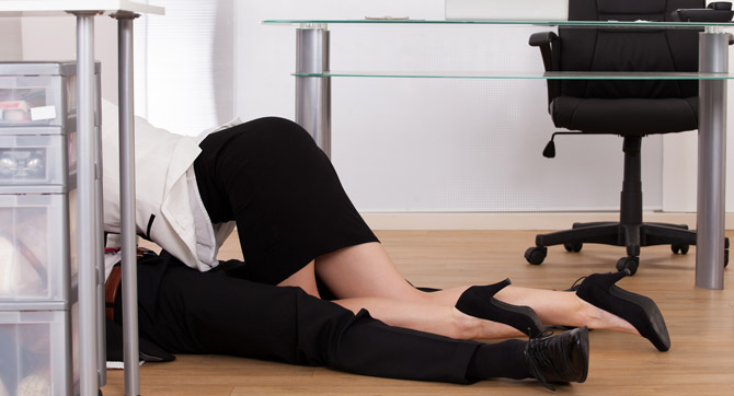 Sex am Arbeitsplatz - wenn die Lust zur Kündigung führt