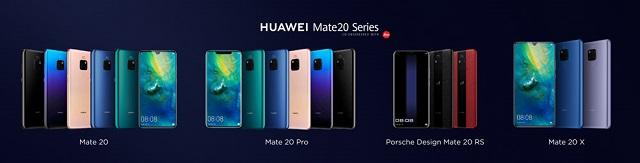 Huawei Mate 20 Farben