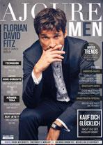 AJOURE Men Cover Monat Dezember 2018 mit Florian David Fitz
