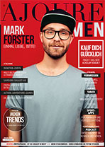AJOURE Men Cover Monat Januar 2019 mit Mark Forster