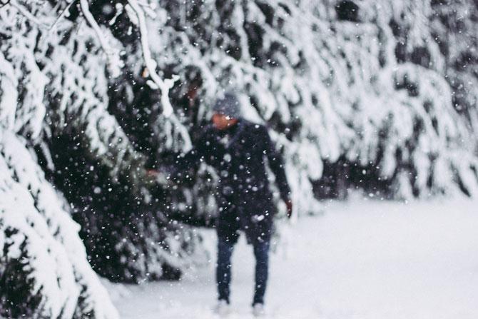 Silvester im Schnee feiern