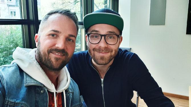 Mark Forster und Daniel Heilig
