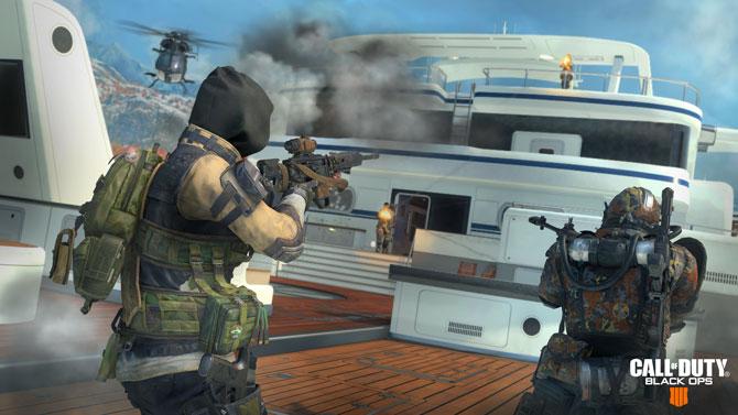 Black Ops 4 Hijacked