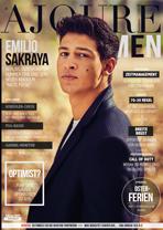 AJOURE Men Cover Monat Februar 2019 mit Emilio Sakraya