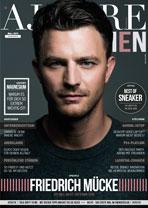 AJOURE Men Cover Monat März 2019 mit Friedrich Mücke