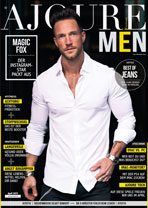 AJOURE Men Cover Monat April 2019 mit Magic Fox