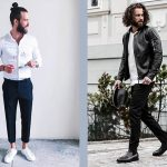 Street-Styles: Business Casual vs. Leather & Jeans